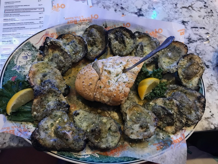 Char Grilled Oysters- A MUST