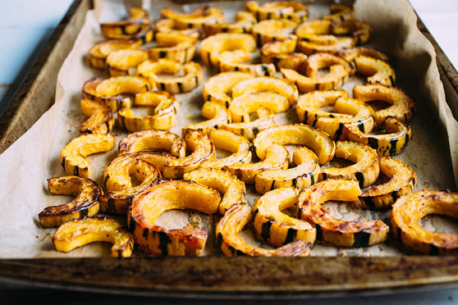 roasted-delicata-squash-with-fried-shallots-herbs-and-salted-brown-butter-yogurt-3